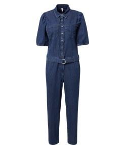 PULZ Jeans Salopeta 'CASSI'  albastru