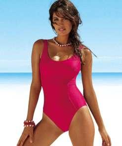 LASCANA Costum de baie modelator  roz