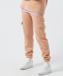 Cropp - Pantaloni de trening cu buzunare cargo - Bej
