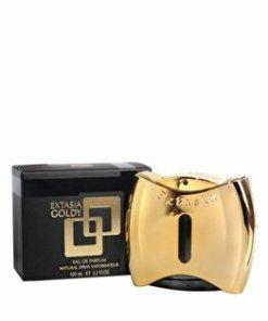 Apa de parfum New Brand Perfumes Extasia Gold, 100 ml, pentru femei