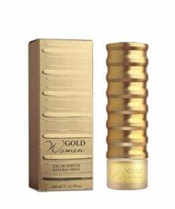 Apa de parfum New Brand Perfumes Gold Women, 100 ml, pentru femei