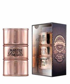 Apa de parfum New Brand Perfumes Essence Pink Gold for Women, 100 ml, pentru femei