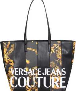 Versace Jeans Couture Faux Leather Tote Bag 71VA4B46_ZS082G89 MULTICOLOUR