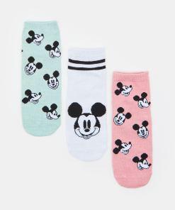 Sinsay - Set de 3 perechi de șosete Mickey Mouse - Multicolor
