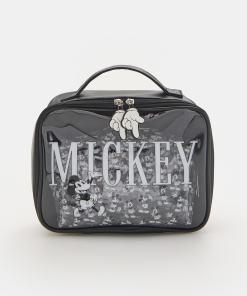 Sinsay - Set de 2 portfarduri cu Mickey Mouse - Negru