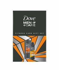 Set cadou pentru barbati Dove, Men +Care, Fitness Care (Gel de dus Dove, Men +Care, 3 In 1 Endurance, 250 ml + Antiperspirant spray Dove Men +Care, Sport Endurance, 150 ml)