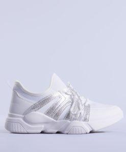 Pantofi sport dama Vanesa albi