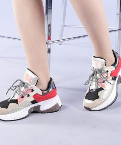 Pantofi sport dama Valentyna aurii