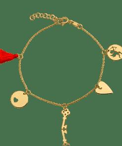 Bratara din aur galben de 14K 15590