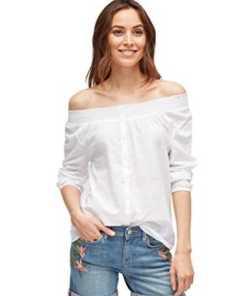 TOM TAILOR für Frauen Blusen, Shirts & Hemden Bluse mit Off-Shoulder-Ausschnitt