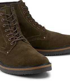 Boots Trade 12 von Camel Active in grün für Herren. Gr. 41,42,42 1/2,43,44,44 1/2,45,46