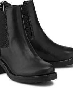 Chelsea Boots von Tommy Jeans in schwarz für Damen. Gr. 37,38,39,40,41