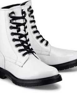 Fashion-Boot von Another A in weiß für Damen. Gr. 38