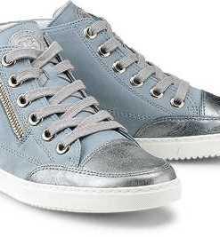 Hi-Top-Sneaker von Paul Green in blau für Damen. Gr. 37,37 1/2,38,38 1/2,39,40,40 1/2