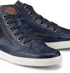 Hi-Top-Sneaker von Paul Green in blau für Damen. Gr. 38