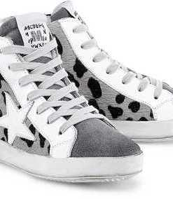 Fashion-Sneaker von Meline in grau für Damen. Gr. 38