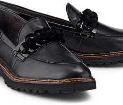 Klassik-Loafer von Tamaris in schwarz für Damen. Gr. 38
