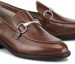 Spangen-Loafer von Marc O'Polo in braun für Damen. Gr. 37,37 1/2,38 1/2,40 1/2