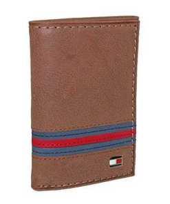 Tommy Hilfiger Herren Leder Yale Trifold Brieftasche