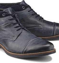 Schnür-Stiefel von Drievholt in grau für Herren. Gr. 40