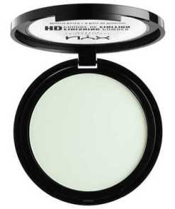 NYX Professional Makeup High Definition Finishing Powder (Various Shades) - Mint Green