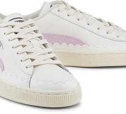 Basket Rubberiz Wn's von Puma in weiß für Damen. Gr. 36,37,37.5,38,38.5,40.5,41,42