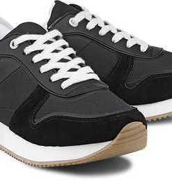 Trend-Sneaker von Tommy Hilfiger in schwarz für Damen. Gr. 38,39,40