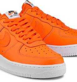 Air Force 1'07 Lv8 von Nike in orange für Damen. Gr. 39