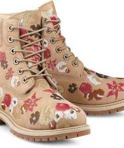 """""""Boots Premium 6"""""""" von Timberland in beige für Damen. Gr. 37,39 1/2"""""""