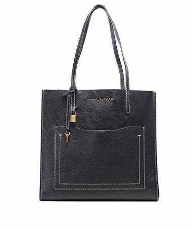 Marc Jacobs Damen die Grind t Pocket Tote Tasche Schwarz