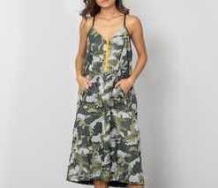 Nike Sportswear Woven Dress Light Bone/ Olive Canvas/ Yellow Ochre/ Olive Canvas