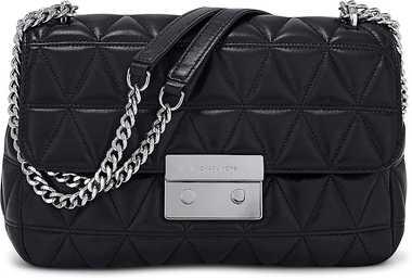 Stepp-Tasche Sloan von Michael Kors in schwarz für Damen