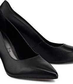 Klassik-Pumps von Tamaris in schwarz für Damen. Gr. 37,38,41