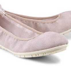 Trend-Ballerina von s.Oliver in rosa für Damen. Gr. 37,38,39,40