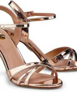 High-Heel-Sandalette von Buffalo in rosa für Damen. Gr. 36,37,38,39,40,41