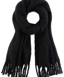 Fransen-Schal von Codello in schwarz für Damen
