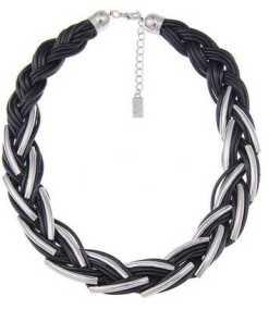 Leslii Halskette im geflochtenen Stil