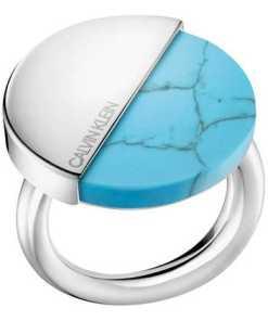 Calvin Klein RING SPICY SST PO STONE TURQUO KJ8RLR040106 Damenring
