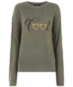 Damen Pullover aus Rippenstrick