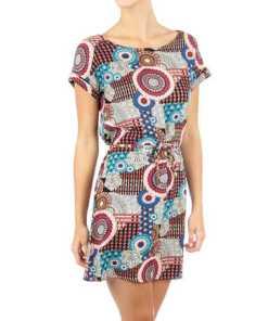 Damen Kleid mit Taillenband