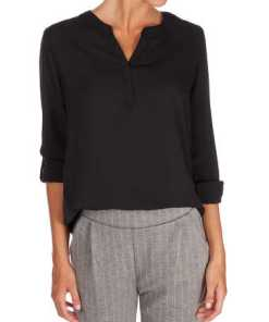 Damen Bluse mit regulierbaren Ärmeln
