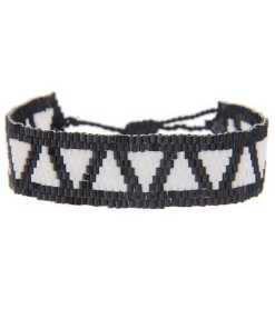 Leslii Modeschmuck-Armband mit Web-Muster