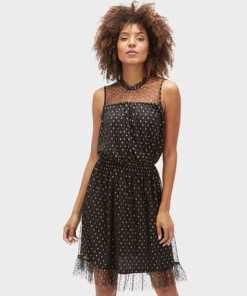 Tom Tailor A-Linien-Kleid »Naomi Campbell: Kleid mit Volants«