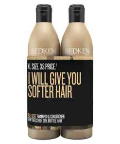 Redken All Soft Shampoo and Conditioner Duo 500 ml