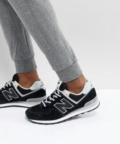 New Balance - 574 - Schwarze Sneaker