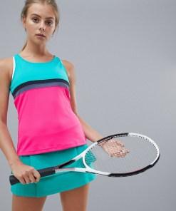 adidas - Tennis Club - Tanktop mit Farbblockdesign - Mehrfarbig