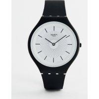 Swatch - SVUB100 New Skin Skinnoir - Armbanduhr in Schwarz - Schwarz