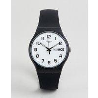 Swatch - SUOB705 Twice Again - Schwarze Armbanduhr