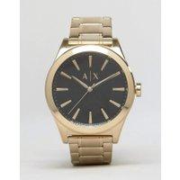 Armani Exchange - AX2328 - Edelstahl-Armbanduhr in Gold - Gold