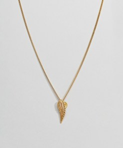 Mister Archangel - Goldfarbene Halskette - Gold